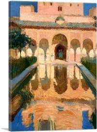 Hall of the Ambassadors - Alhambra - Granada 1909