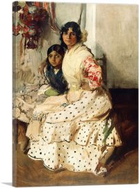 Pepilla the Gypsy and Her Daughter 1910