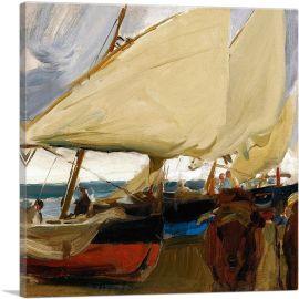 Sailboats at Velencia 1910