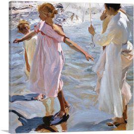 Time for a Bathe - Valencia 1909