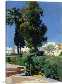 Corner of the Garden - Alcazar - Sevilla 1910