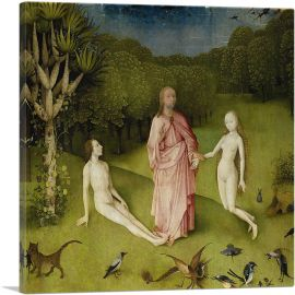 God Presenting Eve To Adam - Detail from The Garden Of Earthly Delights