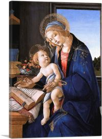 The Virgin Teaching the Infant Jesus to Read - Madonna of the Book 1479