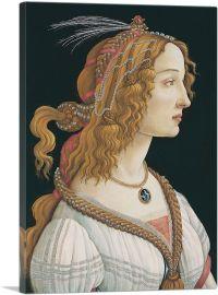 Idealized Portrait of a Lady - Portrait of Simonetta Vespucci