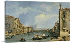 The Grand Canal from Campo di San Vio 1735
