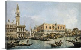The Molo and the Piazzetta San Marco - Venice