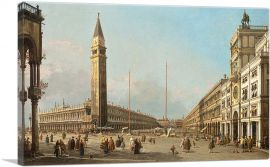 Canal Piazza San Marco Looking South and West