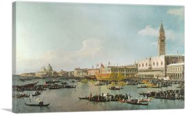 Venice- The Basin of San Marco on Ascension Day 1740