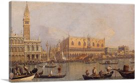 View of the Doge's Palace in Venice
