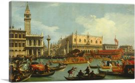 Return to the Pier by the Palazzo Ducale 1729