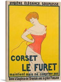 Corset Le Furet 1901