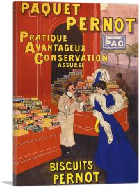Paquet Pernot Biscuits 1905
