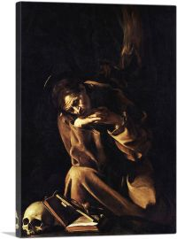 Saint Francis in Meditation - Prayer