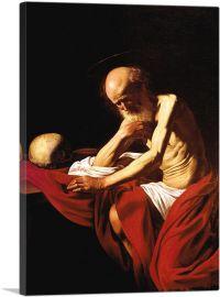 Saint Jerome in Meditation 1606
