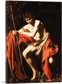 Saint John the Baptist in the Wilderness 1604