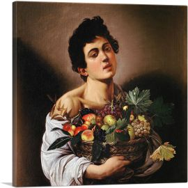 Boy with a Basket of Fruit 1593