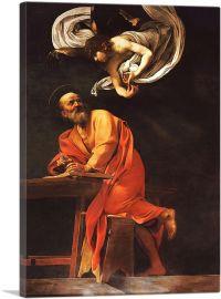 The Inspiration of Saint Matthew 1602