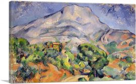 Mount Sainte Victoire View from the South West 1898