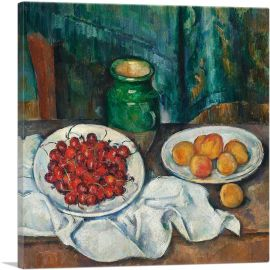 Still Life With Cherries And Peaches 1887