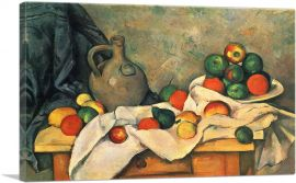 Curtain, Jug, and Fruit Bowl 1894