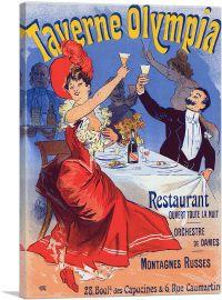 Affiche Pour La Taverne Olympia