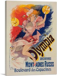 Olympia Anciennes - Mont Agnes Russes 1892