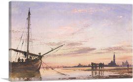 View Across The Lagoon - Venice Sunset