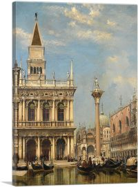 The Piazzetta of St Mark Venice