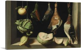 Still Life with Game Fowl 1603