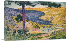 Valley with Fir - Shade on the Mountain 1909