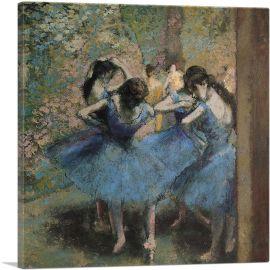Dancers In Blue 1895