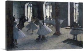 La Repetition Au Foyer De La Danse 1872