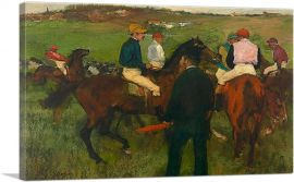 Racehorses - Out of the Paddock 1878
