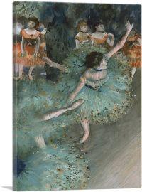 Swaying Dancer - Dancer in Green 1879