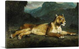 Lioness reclining 1855