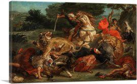The Lion Hunt 1854