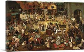 The Fight Between Carnival and Lent 1559