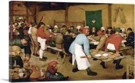 The Peasant Wedding 1569