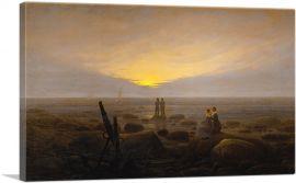 Moonrise over the Sea 1821