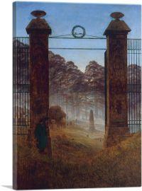 The Cemetery Entrance 1825