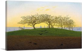 Hills and Ploughed Fields Near Dresden 1824