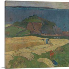 Harvest Le Pouldu 1890