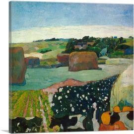 Haystacks in Brittany 1890