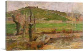 Landscape Near Pont-Aven 1888