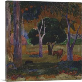 Landscape with a Pig and a Horse 1903