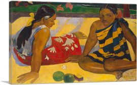 Tahitian Women on the Beach 1891