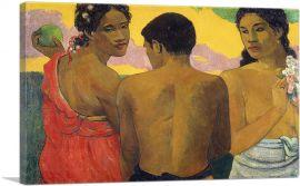 Three Tahitians 1889
