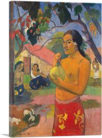 Where Are You Going - Woman Holding a Fruit 1893