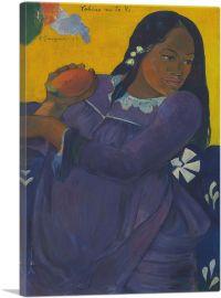 Woman with Mango 1892
