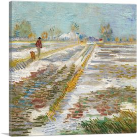 Landscape with Snow 1888